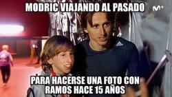 Enlace a Modric se hizo con el DeLorean