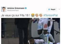 Enlace a Griezmann les pide a EA Sports que quiere esto en el FIFA18