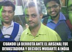 Enlace a Mou tras la derrota ante el Arsenal