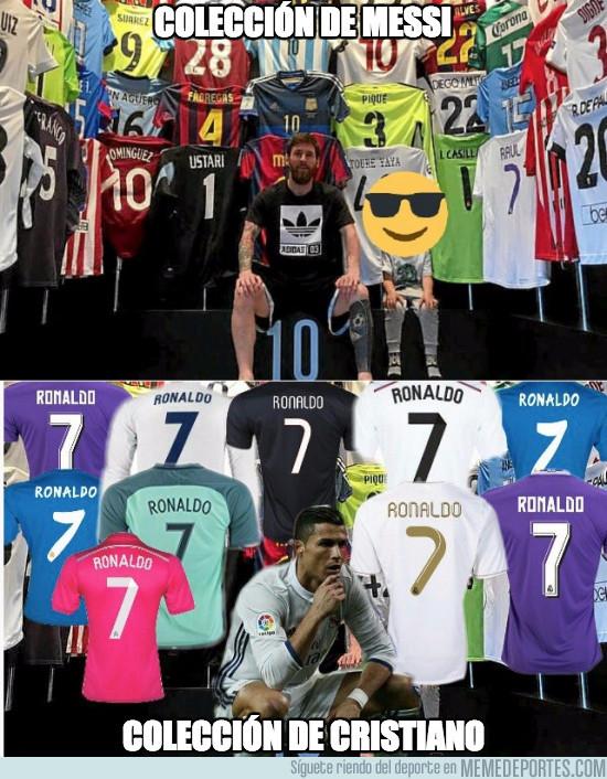 974023 - Colección de Messi vs Colección de Cristiano