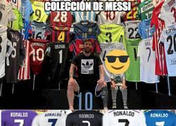 Enlace a Colección de Messi vs Colección de Cristiano