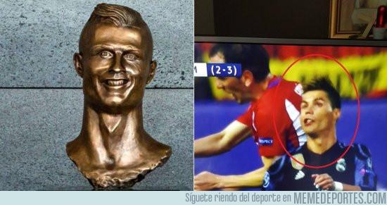 974285 - Ya tenemos la imagen en la que se hizo el busto de Cristiano Ronaldo