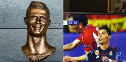 Enlace a Ya tenemos la imagen en la que se hizo el busto de Cristiano Ronaldo