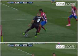 Enlace a Benzema tras el gol en el Calderón