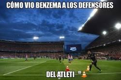 Enlace a Benzema los vio distinto a todos