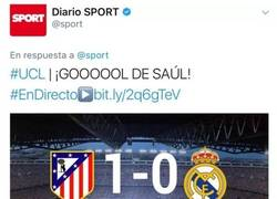 Enlace a El comportamiento bilioso del Sport ante los goles de Real Madrid y Atlético de Madrid