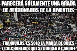Enlace a Parecerá solamente una grada de aficionados de la Juventus