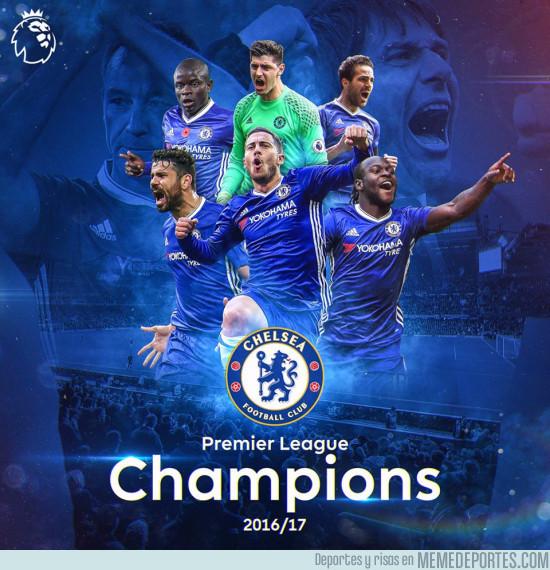 974856 - ¡Felicidades! Chelsea campeón de la Premier League 2016/17