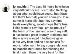 Enlace a Así fueron las bonitas palabras que John Guidetti dedicó a sus aficionados en las redes sociales