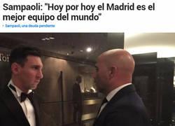Enlace a Messi está decepcionado con Sampaoli