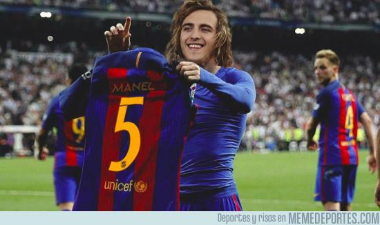 975064 - Manel Navarro a lo Messi, por @auronplay