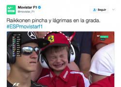 Enlace a El precioso gesto de Ferrari y Raikkonen con este niño tras llorar en la grada