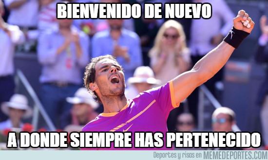 975238 - Rafa Nadal se hace con el Mutua Madrid Open