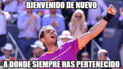 Enlace a Rafa Nadal se hace con el Mutua Madrid Open
