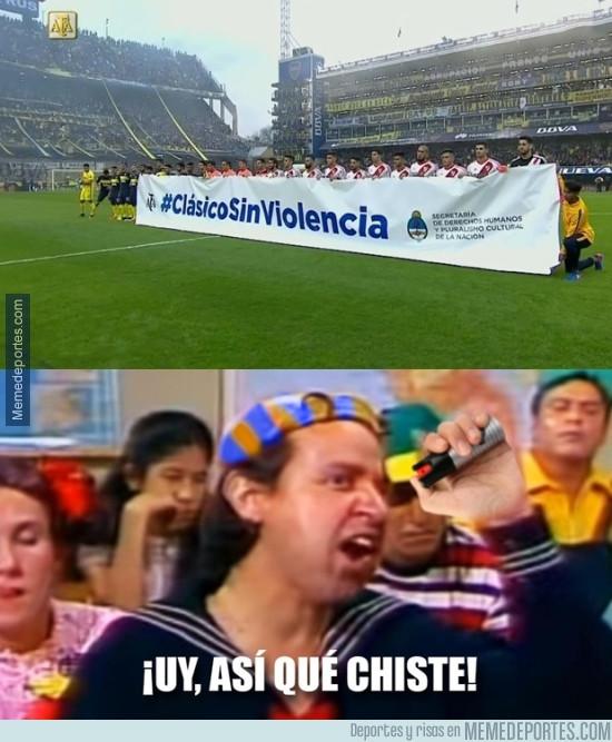 975362 - Mientras tanto, en el Superclásico argentino
