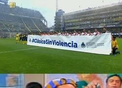 Enlace a Mientras tanto, en el Superclásico argentino