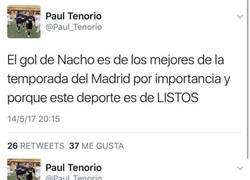 Enlace a Los valores y el doble rasero de un periodista de Real Madrid TV en solo 2 tweets