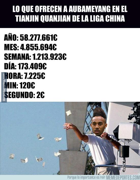 975597 - Pierre-Emerick Aubameyang tiene esta oferta sobre la mesa que lo haría el mejor pagado del mundo