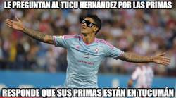 Enlace a Le preguntan al Tucu Hernández por las primas del Barcelona para ganar al Real Madrid