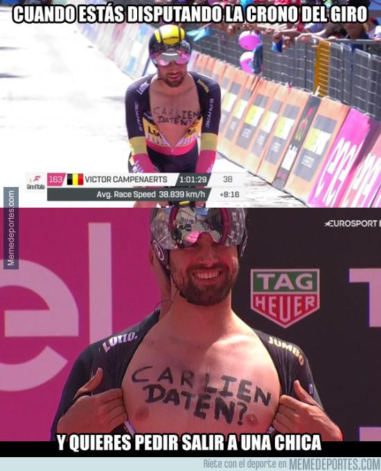975604 - Victor Campenaerts pide una cita en la CRI del Giro