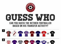 Enlace a ¿Puedes adivinar estos 10 jugadores del desafío, con solo saber que camisetas vistió?