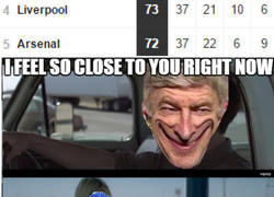 Enlace a Wenger está peligrosamente cerca