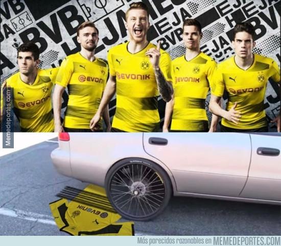 976167 - Inspiración de la nueva camiseta del BVB