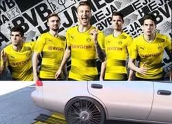 Enlace a Inspiración de la nueva camiseta del BVB