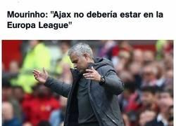 Enlace a Mourinho llorando antes de un partido importante... un clásico
