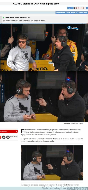 976483 - Forocoches trolea a MARCA colándoles esta foto chopeada de Fernando Alonso
