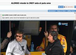 Enlace a Forocoches trolea a MARCA colándoles esta foto chopeada de Fernando Alonso