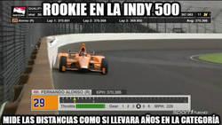 Enlace a ¡BRUTAL FERNANDO ALONSO EN LA INDY500!