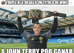Enlace a Terry con su título de WWE
