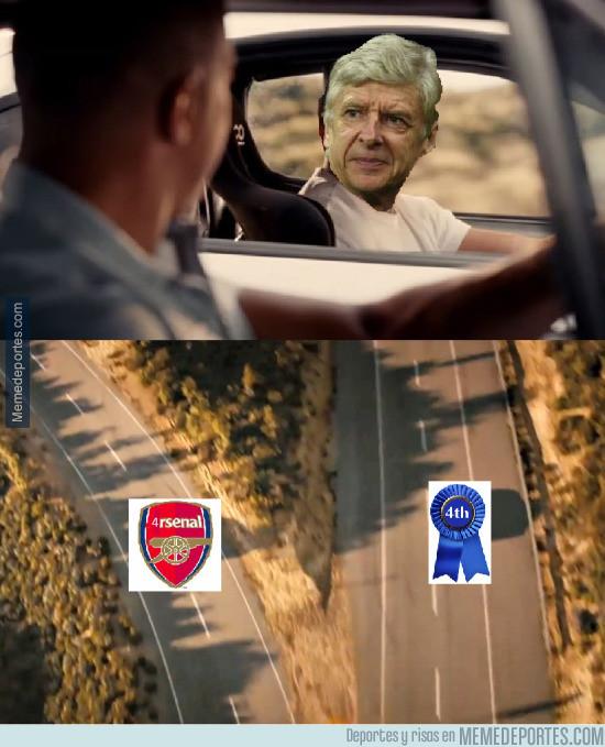 976612 - El Arsenal de Wenger tras el gol de Coutinho...