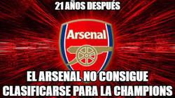 Enlace a Desastre para el Arsenal...