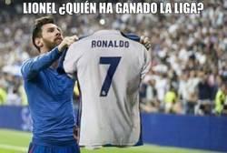 Enlace a Messi sabe quién ha ganado LaLiga