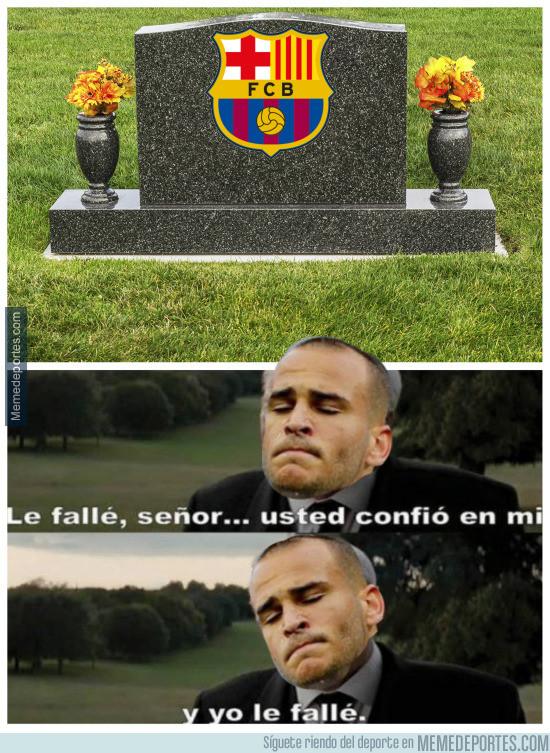 976940 - Sandro le falló al Barça