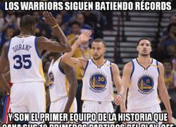 Enlace a Los Warriors siguen batiendo récords