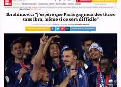 Enlace a Las palabras de Ibrahimovic se han cumplido al pie de la letra