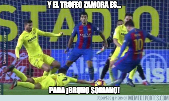 977402 - Y el trofeo Zamora es para...