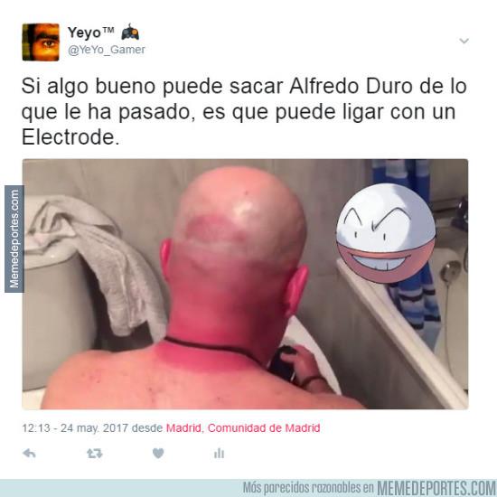 977526 - Alfredo Duró se echa novia tras quemarse la cabeza
