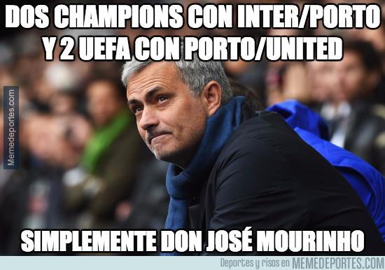 977643 - Brutal lo de José Mourinho