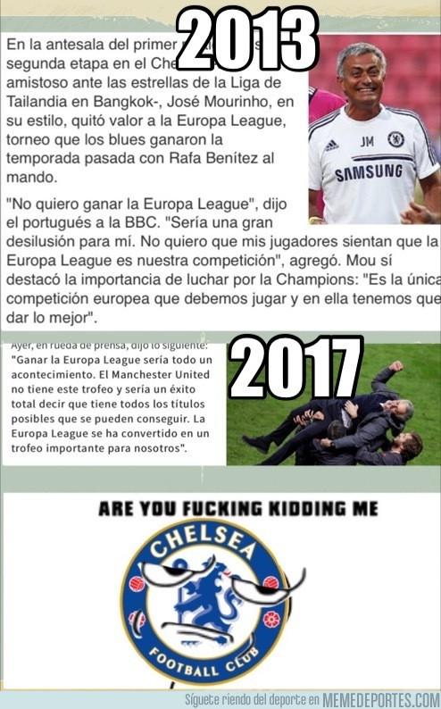 977678 - El doble rasero de Mourinho explicado en dos simples frases