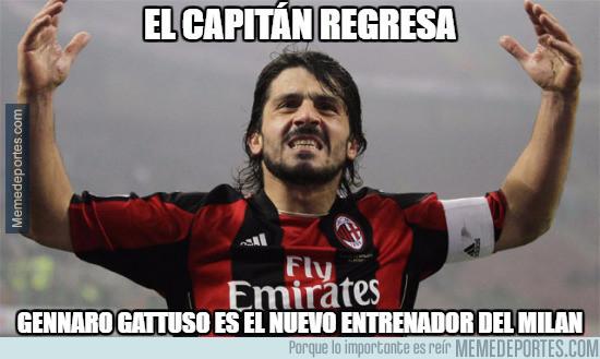 977694 - Gattuso dirigirá al filial del Milan