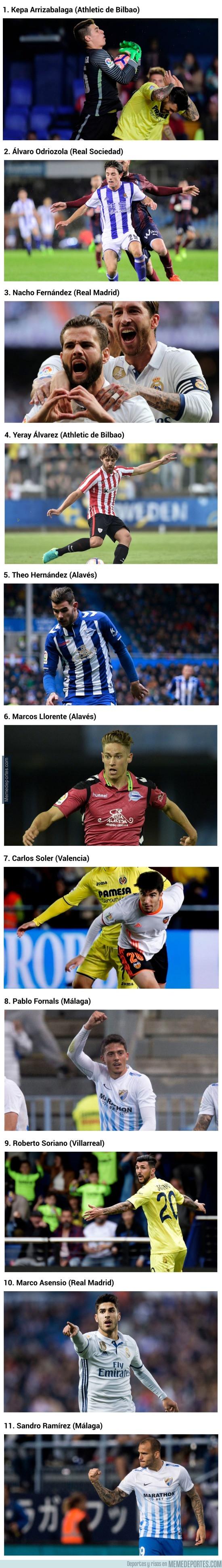 977911 - El XI revelación de LaLiga según la UEFA, ¿estás de acuerdo?