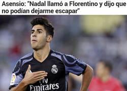 Enlace a Así convenció Nadal a Florentino Pérez para fichar a Asensio