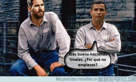 977978 - Messi y Cristiano a lo Scofield