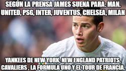 Enlace a James suena en todas partes