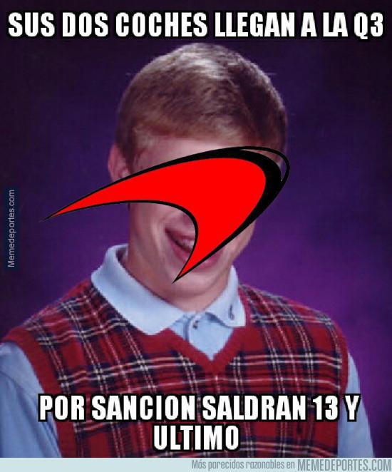 978111 - Fernando Alonso aliviado de no haber participado