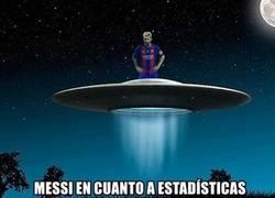Enlace a Messi en numeros y en calidad